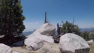 Хайк по горам в Калифорнии hike twin peaks