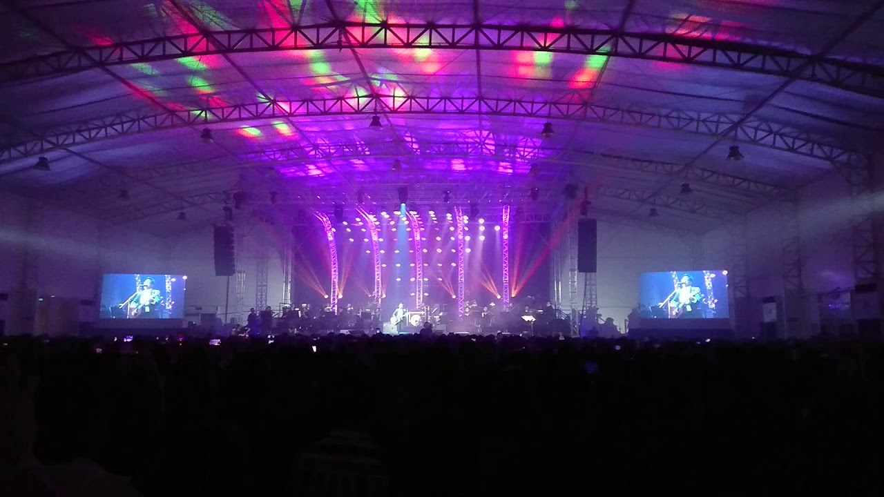 Burnout clip - Ebe Dancel in Metrotent - 20th Anniv concert