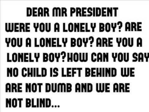 слушать мистер президент все песни