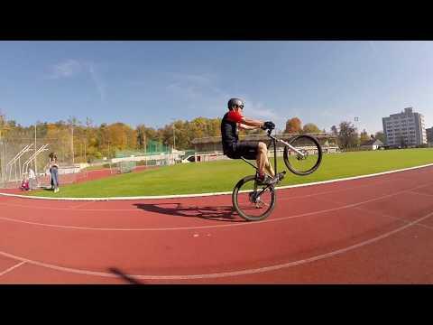 Longest bicycle wheelie (42,2 km - marathon distance) - WORLD RECORD - Stefan Stock