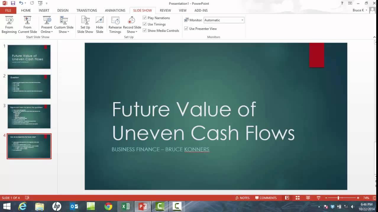 Future Value of Cash Flow Formulas