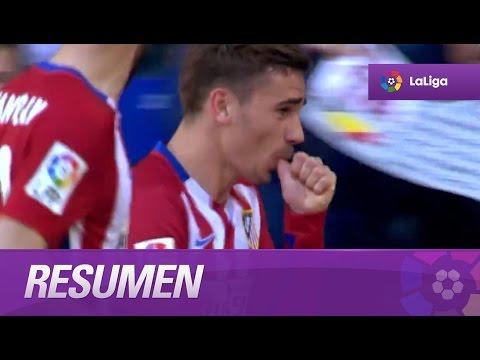 Resumen de RCD Espanyol (1-3) Atlético de Madrid