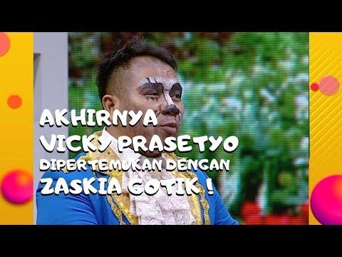 Download Akhirnya Vicky Prasetyo Dipertemukan Dengan Zazkia Gotik! | Pesbukers Mp4 baru