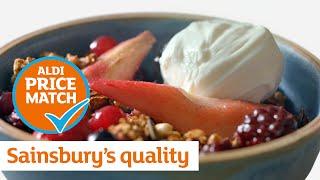 Sainsbury's quality  Aldi prices: Berries and Pears | Sainsbury's