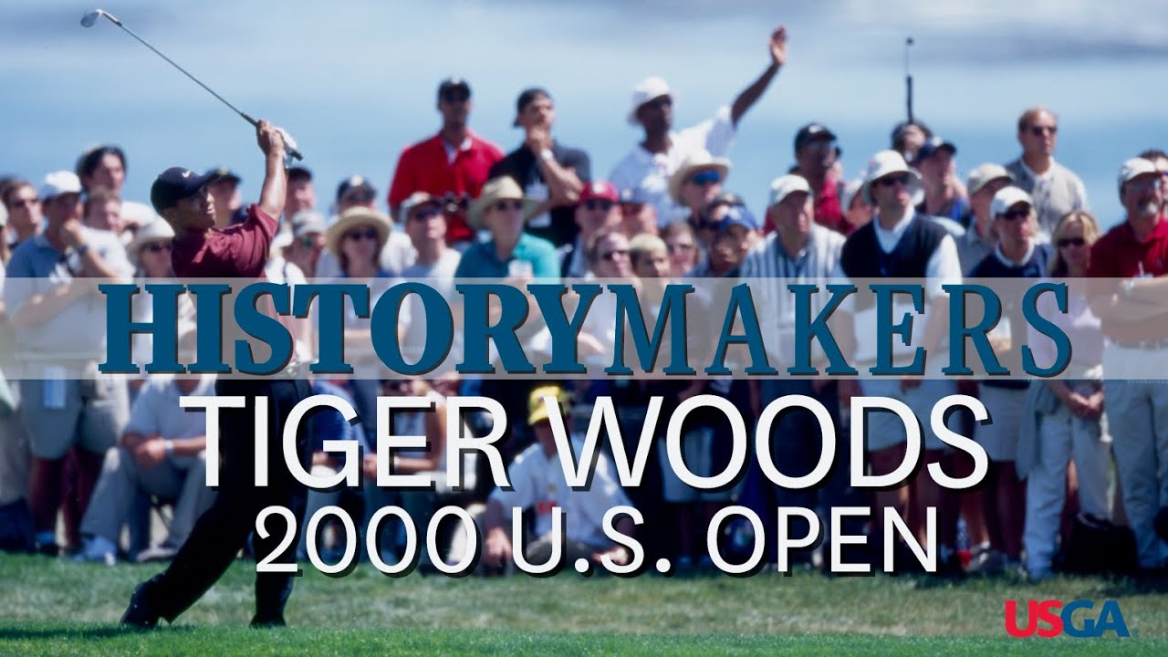 History Makers: Tiger Dominates 2000 U.S. Open at Pebble Beach