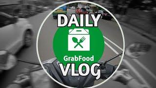 Grab Food Motovlog #1 | #Motovlog4 #GrabDriver