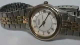 Seiko Helmet Chronograph  Vintage Wrist Watch 6139B 7100