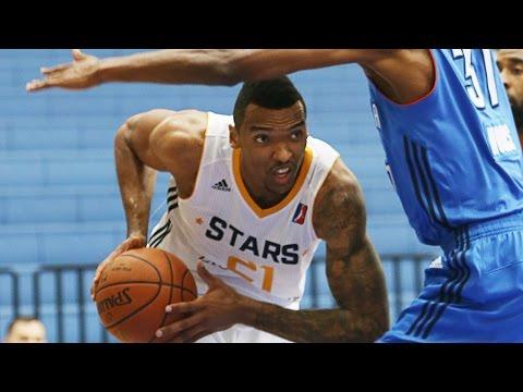 Jazz Rookie Joel Bolomboy Pre-NBA D-League Showcase Highlights