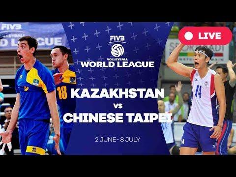 Kazakhstan v Chinese Taipei - Group 3: 2017 FIVB Volleyball World League