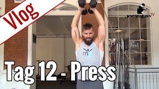 Tag 12 - Schulter-Training | Vlog 10-Wochen-Diät