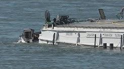 Schiffskollision - 2 Verletzte - 1 Havarie auf dem Rhein Höhe Königswinter am 29.06.18 + O-Töne