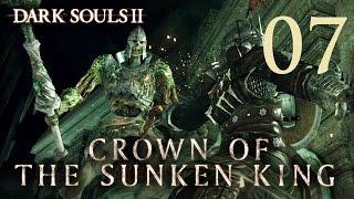 Dark Souls 2 Crown of the Sunken King - Gameplay Walkthrough Part 7: Cave of the Dead