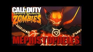 Mephistopheles Super Easter Egg Boss Fight with Subs  -  Infinite Warfare Zombies