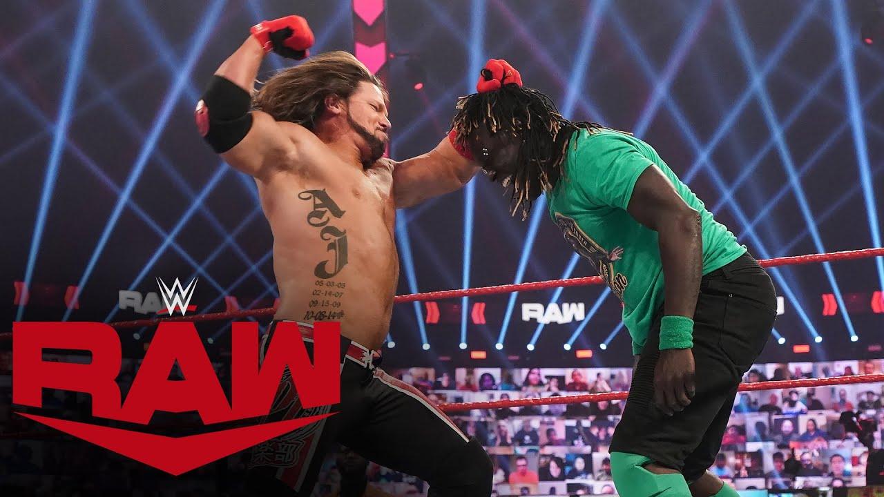 Download R-Truth vs. AJ Styles: Raw, Jan. 25, 2021
