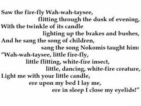 """Hiawatha's Childhood"" by Henry Wadsworth Longfellow (read by Tom O'Bedlam)"