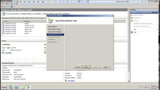 BackUp and Recovery Drive for window Server 2008R2