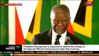 Thabo Mbeki pays tribute to ANC stalwart Billy Modise
