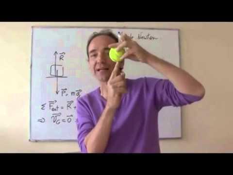 Cours TS 2012 / ch5: mécanique de Newton III-1 première loi de Newton ou principe d'inertie