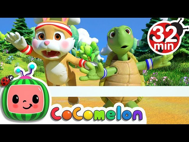 The Tortoise and the Hare   +More Nursery Rhymes & Kids Songs - CoCoMelon