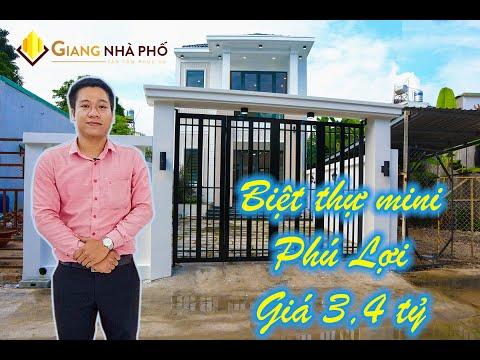Nhà Phố tân cổ điển Phú Lợi Thủ Dầu Một Bình Dương   Giá 3,4 Tỷ   # Video 90