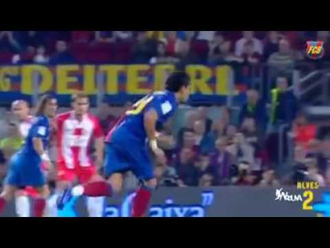 dani alves's top 10 goals with barcelona
