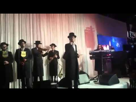 Upcoming star Ari Hill singing with Malchus choir