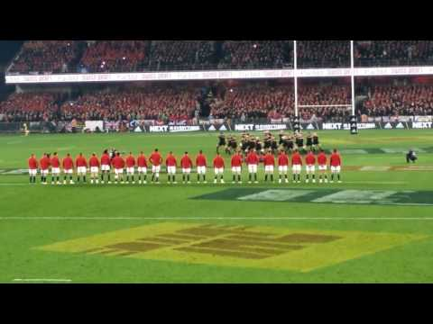 Haka from the last test of the Lions Tour 2017