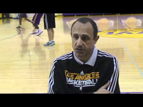 Ettore Messina on coaching in the NBA