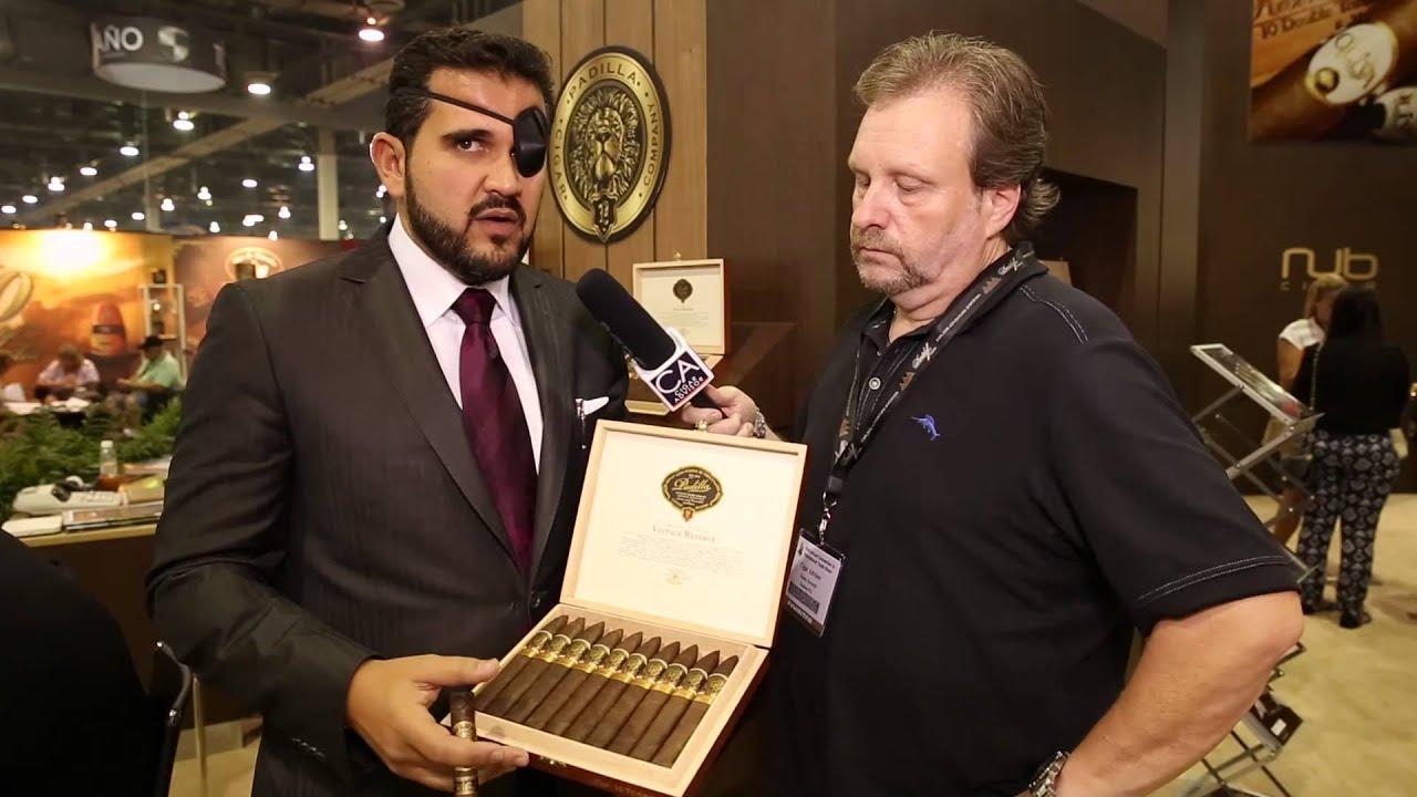 Padilla Vintage Reserve Cigars at IPCPR Trade Show 2013 in Las Vegas