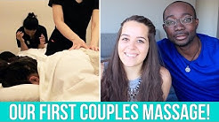Our First Couples Massage Experience | Ellko