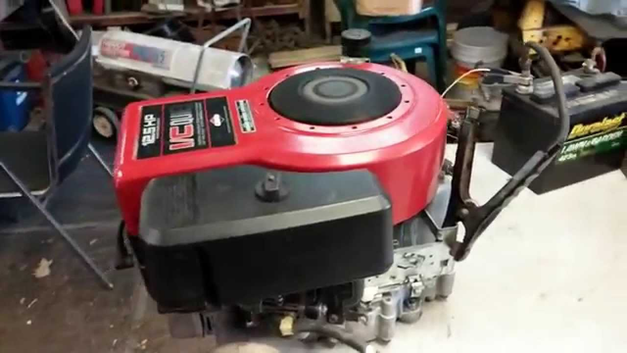 Briggs 12 5 Hp I C Quiet Youtube