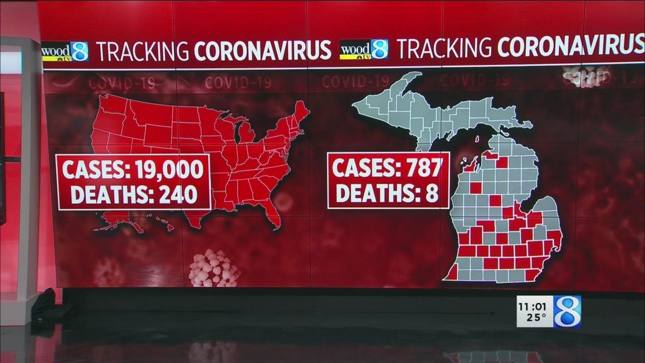 8 deaths linked to COVID-19 in Michigan; Whitmer orders salons to ...