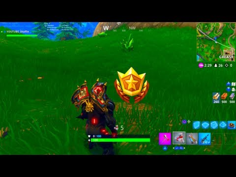 ''Search Between A Playground, Campsite And Footprint'' Location! [Fortnite: Week 6 Challenges]
