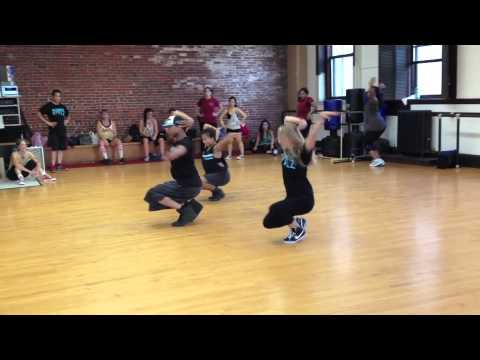 Ricardo Foster Jr. @ cambridge dance complex Chris Brown  Trumpet Lights choreo