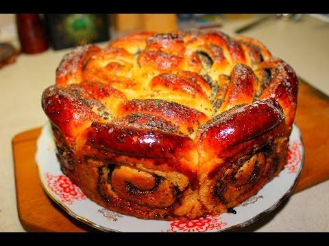 Сметанный пирог с маком