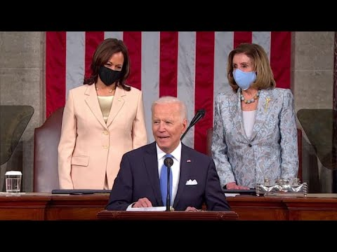 President Joe Biden delivers his first State of the Union address