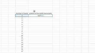 كيفية إنشاء T-جدول الاحتمالات في Excel!