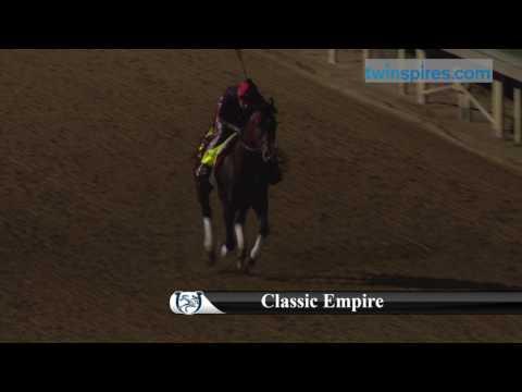 Classic Empire 2017 Kentucky Derby Hopeful 4.24