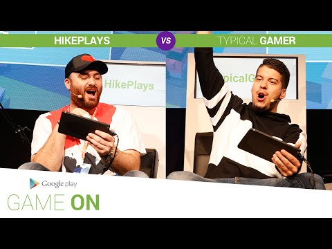 Google Play: Game On // Hike Plays Vs. Typical Gamer [Crossy Road]