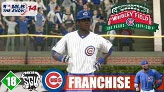 MLB 14: The Show (PS4) Chicago Cubs Franchise - EP18 (MLB Debut & Division Showdown!)