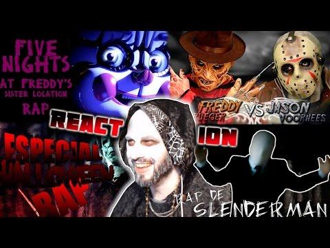 HALLOWEEN | Freddy VS Jason  | Noche de terror | Sister Location Rap | Keyblade | Zarcort | JayF