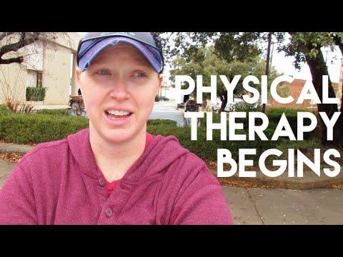 Physical Therapy Begins | Sarah Bowen