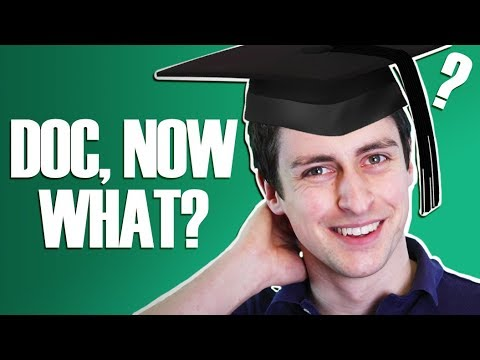 What the hell do I do with my PhD now? New vlog series!