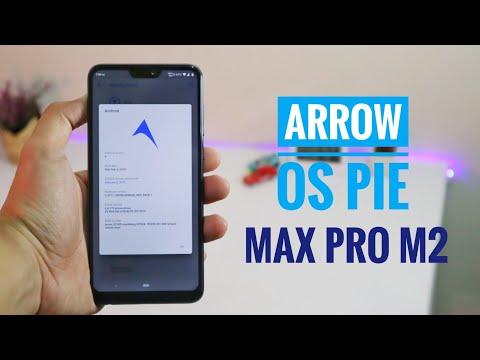 Update Android Pie Zenfone Max Pro M2 Menggunakan Custom ROM Arrow OS