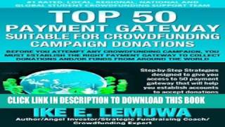 Top 50 Payment Gateway Suitable for Crowdfunding Campaign donations Popular Colection
