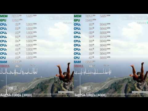AGESA 1002a vs. 1000a.  Ryzen 5 2400G (Ryzen 3 2200G) Asus Prime A320M-K. Bios Update