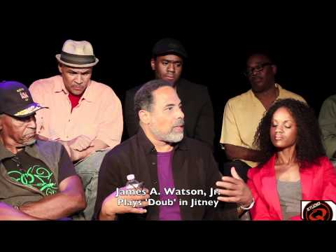Studio Q Interviews The Cast of Jitney at The Pasadena Playhouse