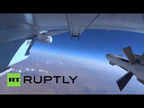 Syria: Russian MoD releases footage of airstrikes in Syria