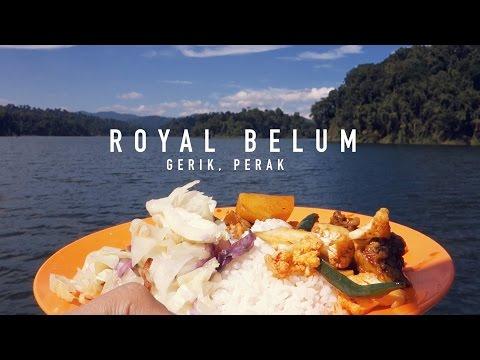 Royal Belum Rainforest Boathouse Trip Year 2016.