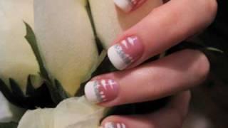 Easy Bride Wedding Nails